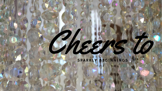 Cheers to Sparkly Beginnings