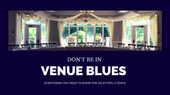 Don't be in Venue Blues
