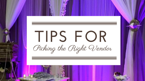 Tips for Picking the Right Vendor